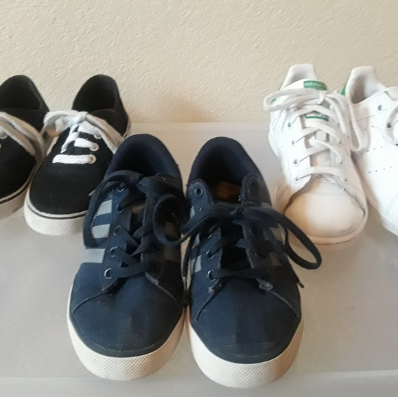 Boys Adidas And Cat Jack Athletic Shoes